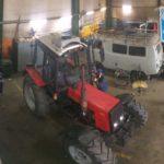 Установили автокондиционер на трактор