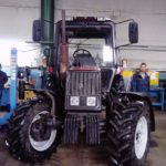 Установка кондиционера на трактор