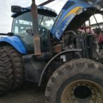 Автокондиционер на New Holland