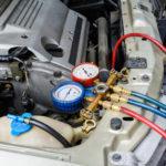 Обслуживание автокондиционера на легковом автомобиле